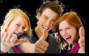 Three Young Teenagers - mit Lerncoaching zum Erfolg